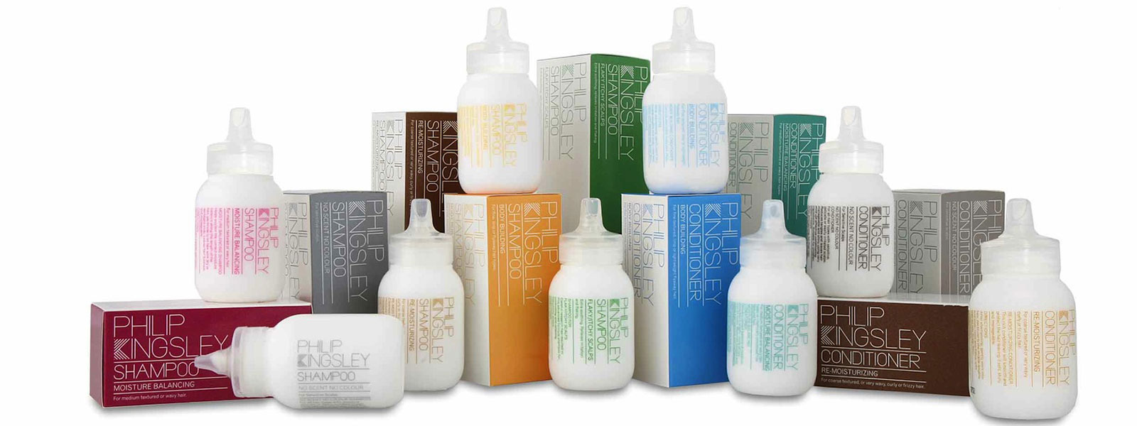 Phillip Kingsley products available at Total Look Hairdressers in Monmouth